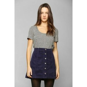 Urban Outfitters - BDG Corduroy High-waisted Skirt